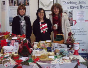 Craft Fair Volunteers and Stall