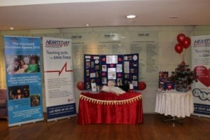 HEARTSTART STAND AT COURTYARD
