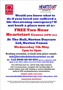 NORTON CANON POSTER 7TH MAY 2014