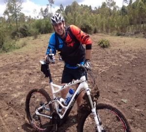 robert austen with bike