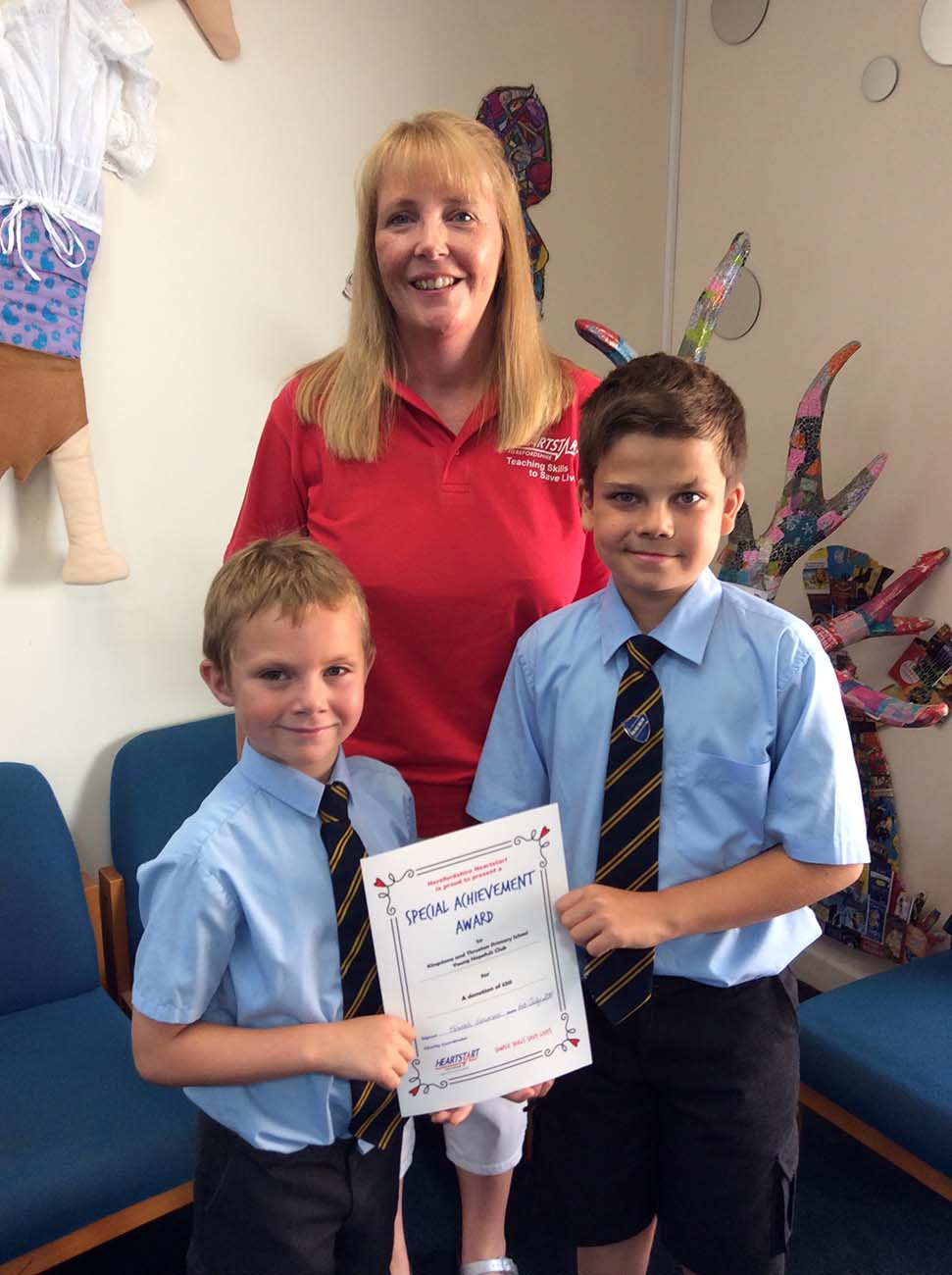 Kingstone & Thruxton Primary School Donation
