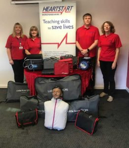 Tesco 'Bags of Help' Community Fund Supports Herefordshire Heartstart