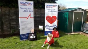 Herefordshire Heartstart Volunteers in Lockdown!