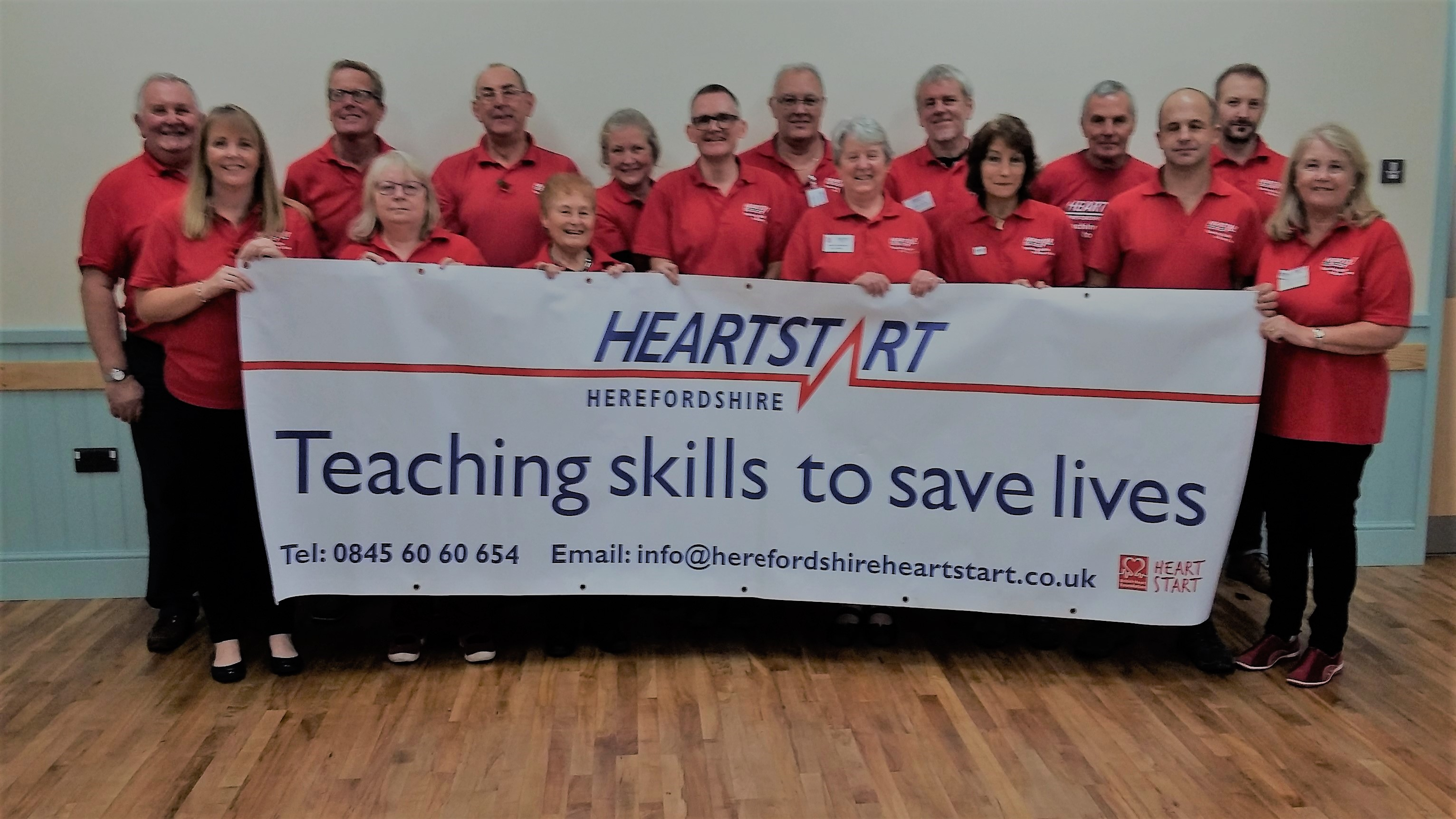You are currently viewing Volunteers from Herefordshire Heartstart recently updated their training at an event for those involved in the delivery of courses.