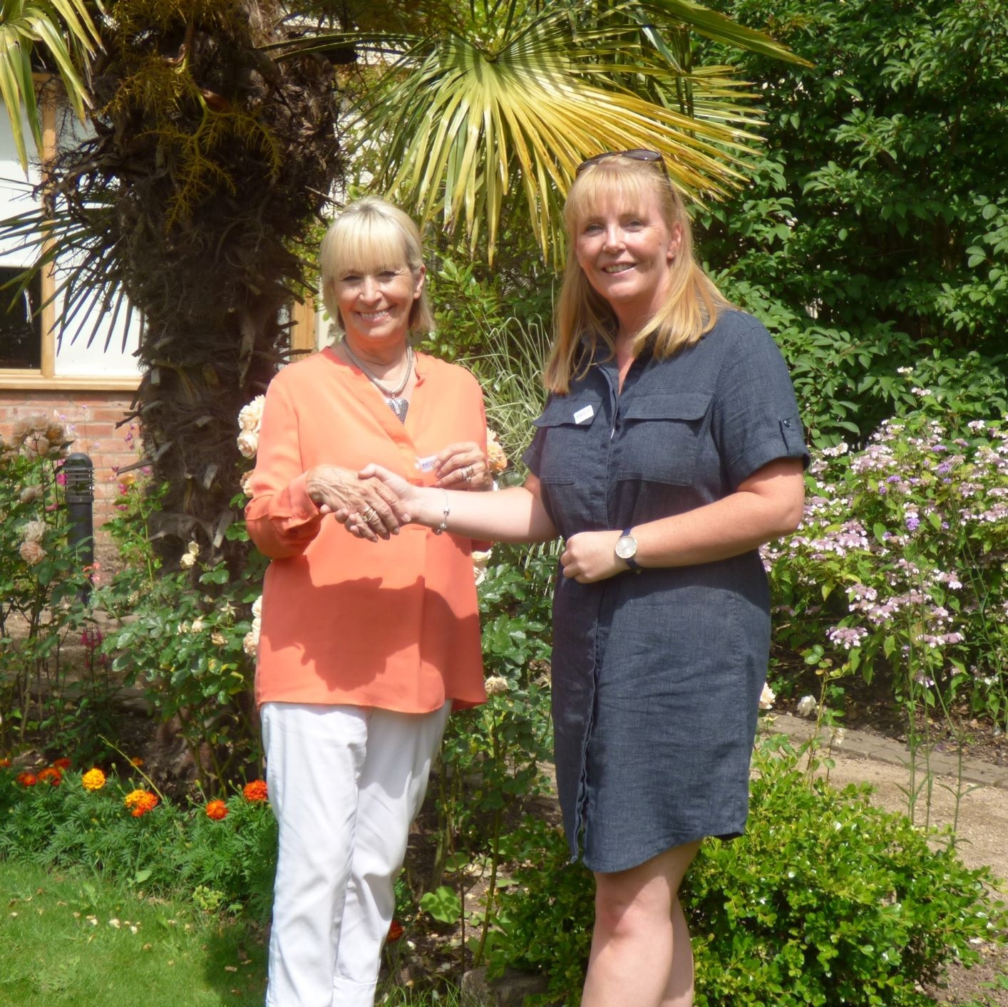 Donation from Inner Wheel Club of Hereford Wye Valley