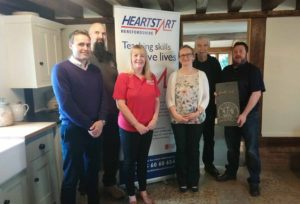 Read more about the article 10km Fundraiser for Herefordshire Heartstart